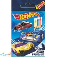 Мел восковой 16 цв. Hot Wheels Centrum 89219
